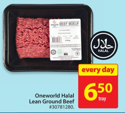 Oneworld Halal Lean Ground Beef