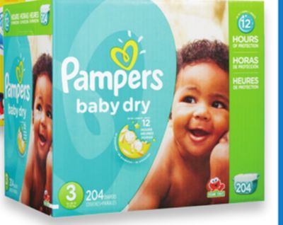 Pampers Baby Dry - Cruiser or Swaddlers