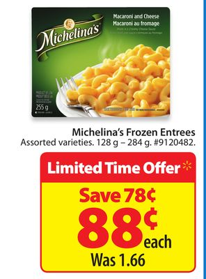 Michelina's Frozen Entrees