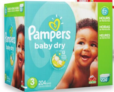 Pamper Baby Dry - Cruisers or Swaddler