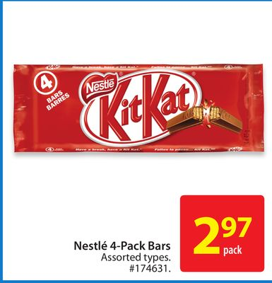 Nestle 4-pack Bars