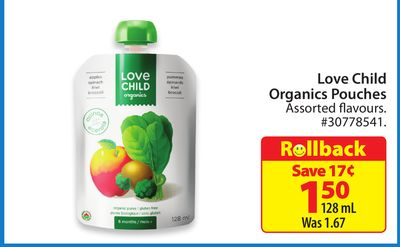 Love Child Organics Pouches