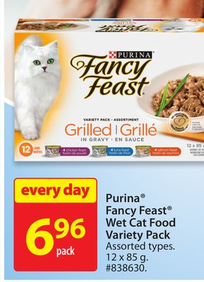Purina Fancy Feast Wet Cat Food Variety Pack