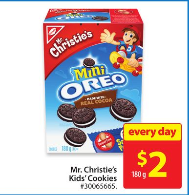 Mr. Christie's Kids' Cookies
