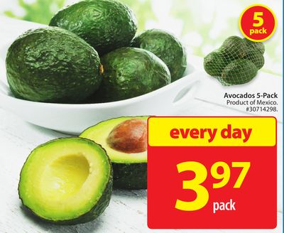 Avocados 5-pack