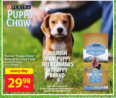 Purina Puppy Chow Natural Dry Dog Food