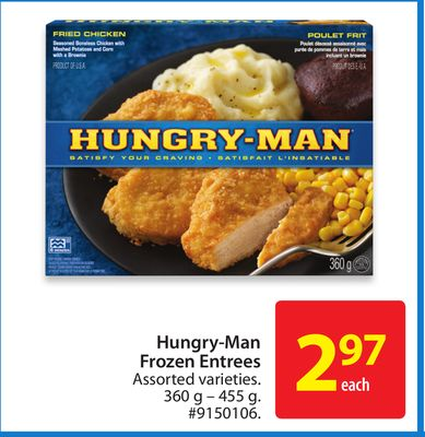 Hungry-man Frozen Entrees