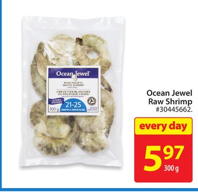 Ocean Jewel Raw Shrimp