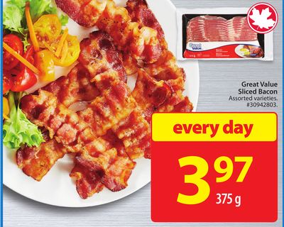Great Value Sliced Bacon