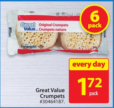 Great Value Crumpets