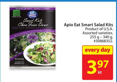 Apio Eat Smart Salad Kits