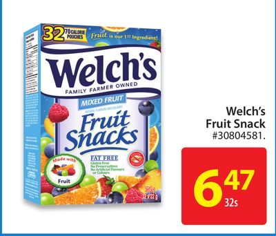 Welch's Fruit Snack