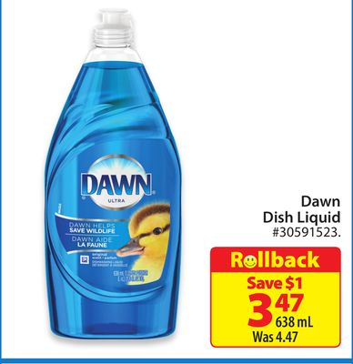 Dawn Dish Liquid