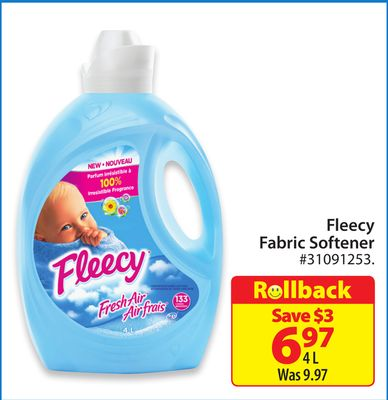 Fleecy Fabric Softener