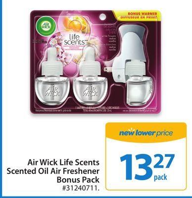 Air Wick Life Scents Scented Oil Summer Air Freshener Bonus Pack