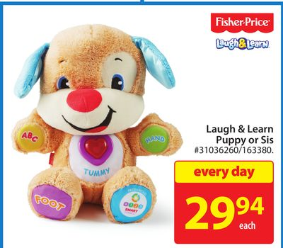 Fisher Price Laugh 7 Learn Puppy or Sis
