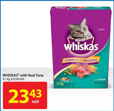 Whiskas With Real Tuna