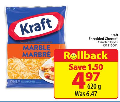 Kraft Shredded Cheese