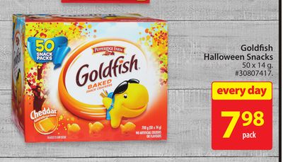 Goldfish Halloween Snacks
