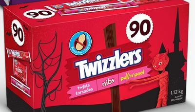 Twizzlers Candy Assortment 90 Count