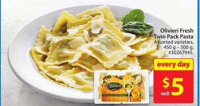 Olivieri Fresh Twin Pack Pasta