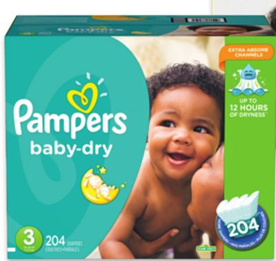 Pampers Baby Dry - Cruisers or Swaddles