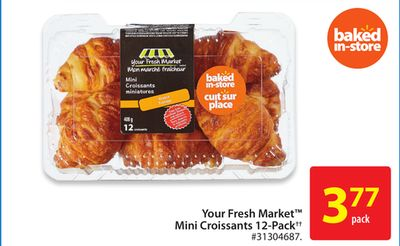Your Fresh Market Mini Croissants 12-pack