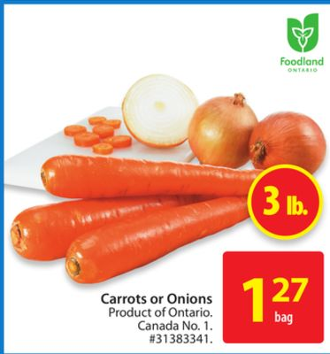 Carrots or Onions