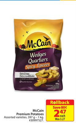 Mccain Premium Potatoes