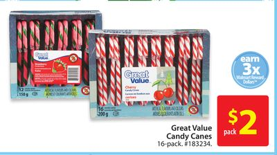Great Value Candy Canes