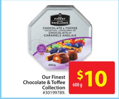 Our Finest Chocolate & Toffee Collection