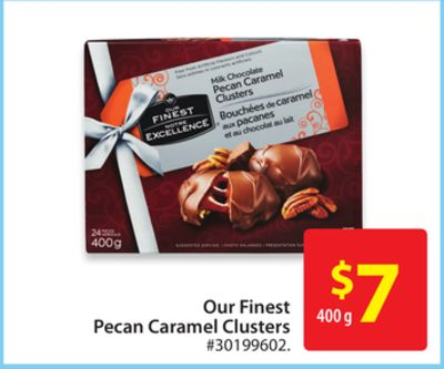 Our Finest Pecan Caramel Clusters