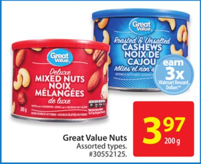 Great Value Nuts