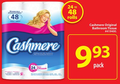 Cashmere Original Bathroom Tissue