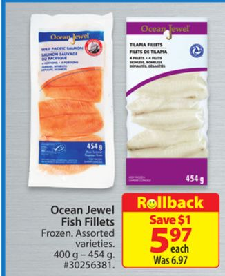 Ocean Jewel Fish Fillets