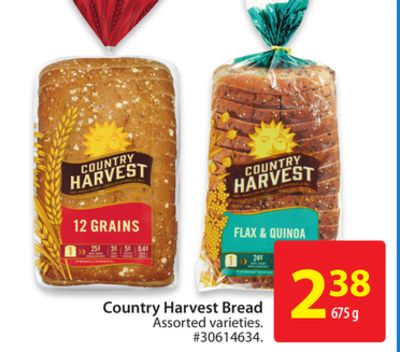 Country Harvest Bread