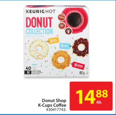 Keurig Donut Shop K-cups Coffee