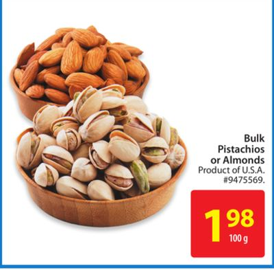 Bulk Pistachios or Almonds