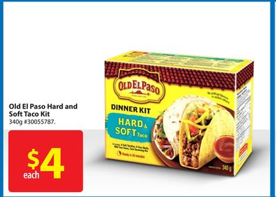 Old El Paso Hard and Soft Taco Kit