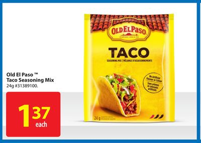 Old El Paso Taco Seasoning Mix