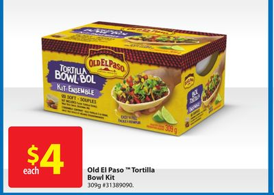 Old El Paso Tortilla Bowl Kit