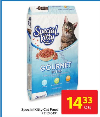 Special Kitty Cat Food