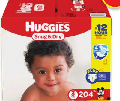 Huggies Little Movers or Sung & Dry