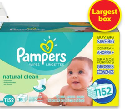 Pampers 16x Wipes