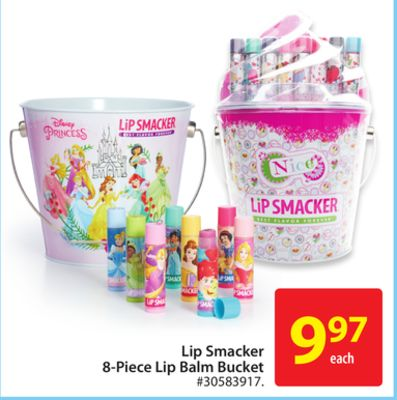 Lip Smacker 8-piece Lip Balm Bucket