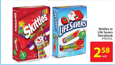 Skittles or Life Savers Storybook