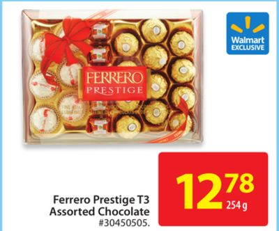 Ferrero Prestige T3 Assorted Chocolate