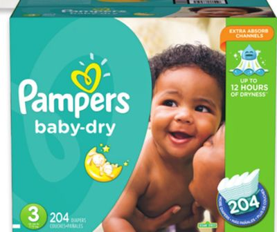 Pampers Baby Dry - Cruisers or Swaddlers