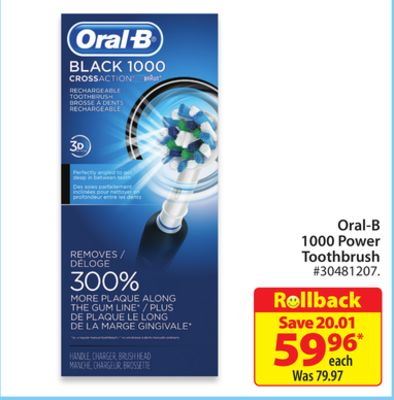 Oral-B 1000 Power Toothbrush