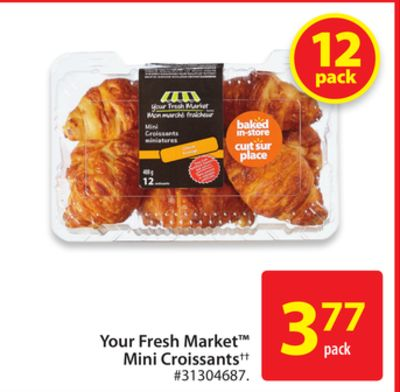 Your Fresh Market Mini Croissants